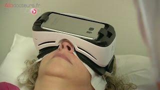 Des patients détendus grâce à la réalité virtuelle - Le Magazine de la santé
