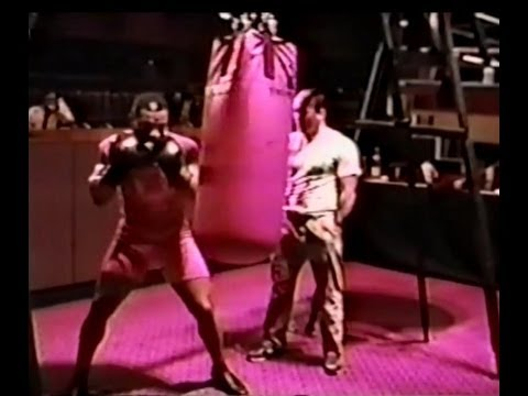 Mike Tyson Destroys Heavy Bag - Atlantic City 1987 Image 1