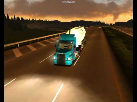 18 wheels of steel american long haul scania 113 viajando