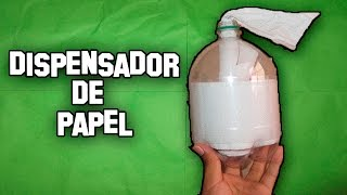 Como Hacer Un Dispensador De Papel Higienico│How To Make a Toilet Paper Dispenser