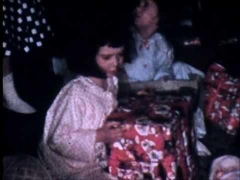 Bergeron Family Christmas 1957