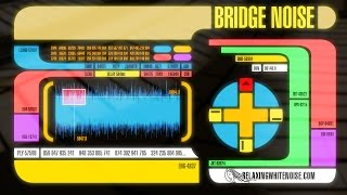 Star Trek The Next Generation Bridge Sounds For Sleep Or Studying White Noise 10 Hours