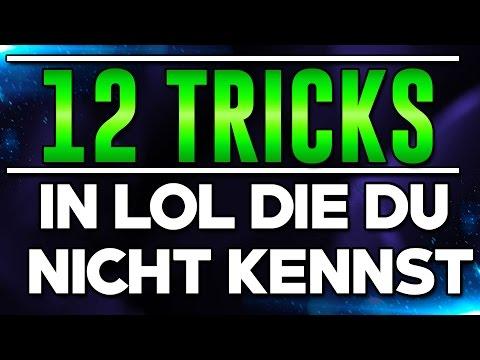 12 äußerst nützliche LoL Tricks die du nicht kennst!