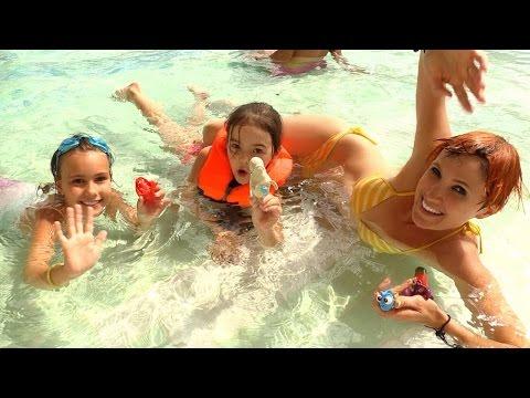Аквапарк Карибия и Маша Капуки Кануки. Детское видео