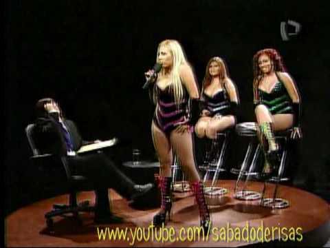 Sabado de Risas - El Franco Puntiador - Las Hechiceras de la Cumbia 1-2 - Panamericana Tv - Canal 5