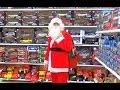 САНТА КЛАУС В СУПЕРМАРКЕТЕ Покупает игрушки детям Подарки к Новому Году mp3