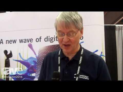 InfoComm 2016: Cambridge Consultants Launches Pizzicato Radio Transmission Technology