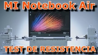 MI NOTEBOOK AIR TEST DE RESISTENCIA Y CALIDAD