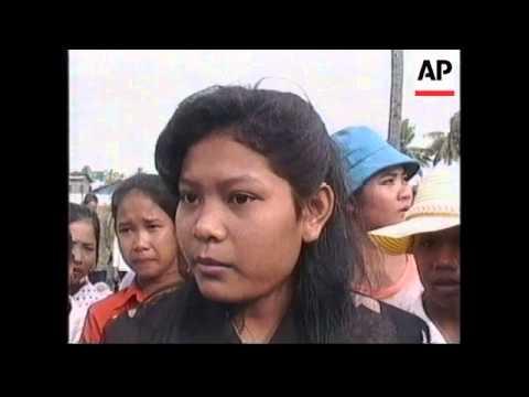 CAMBODIA: PHNOM PENH: GARMENT WORKERS STAGE STRIKE