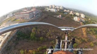 Flying over Manipal Institute of Technology