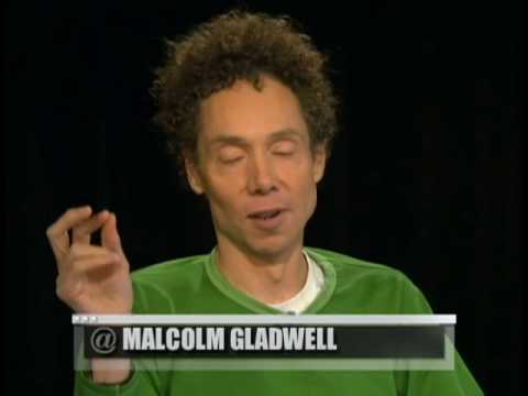 @katiecouric: Malcolm Gladwell