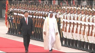 Chinese President Meets Abu Dhabi Crown Prince