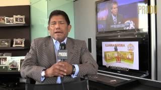 Juan Osorio veterano productor de Televisa manda saludo festivo y habla de la nueva 'Ana y los 7´