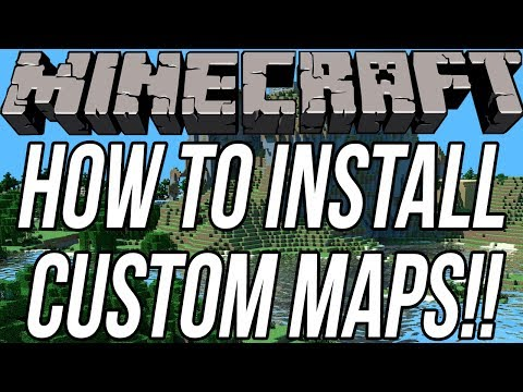 How To Install Custom Maps In Minecraft 1.7.9