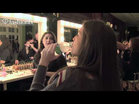 Brazilian Models Backstage at Melk Z Da Spring/Summer 2013 | FFW Fashion Rio | FashionTV