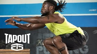 Kofi Kingston takes his workout to new heights, powered by Tapout
