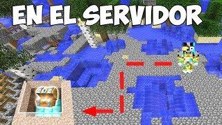 MAPA DEL TESORO DE DIAMANTES CON TRAMPAS EN MINECRAFT 💎❌