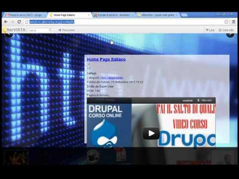 Lezione 14 Demo - Video corso online Joomla 2.5 - http://www.corsi-online.it