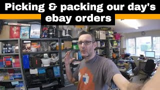 Packing ebay orders - My day as a full time ebay reseller