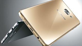 Видео обзор смартфона Samsung Galaxy A5 Gold 2016