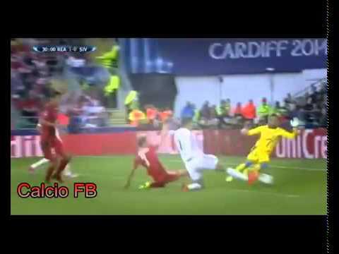 Cristiano Ronaldo ● Amazing Skills Show ● Real Madrid vs Sivilla   UEFA Super Cup 2014