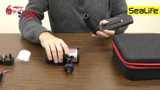 Unboxing the Sea Dragon 4500 Underwater Photo/Video Light