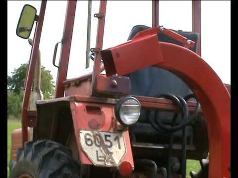 Traktorinis šakų smulkintuvas