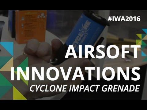 IWA 2016 // AIRSOFT INNOVATIONS - CYCLONE IMPACT GRENADE