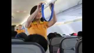 Sexy Air Hostesses Dancing The Cebu Pacific Safety Dance - MTV version