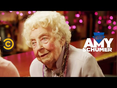 Inside Amy Schumer - Amy Goes Deep With A 106-year-old Woman video