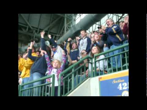 Milwaukee Brewers Suicide Squeeze Win 2011