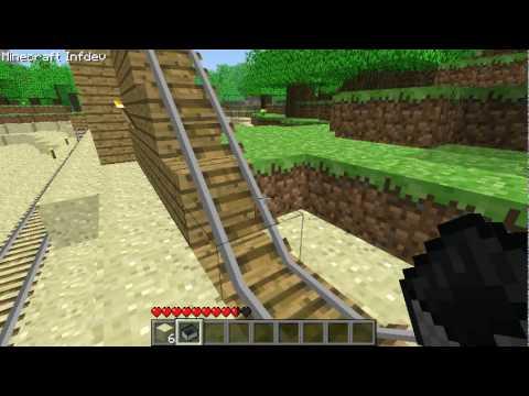 Minecraft Rollercoaster!