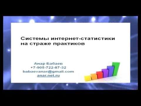 Интернет-статистика 1/3. Анар Бабаев