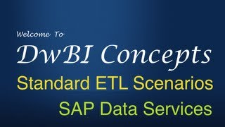ETL in SAP Data Services 01 - Slowly Changing Dimension Type 1 Full Load