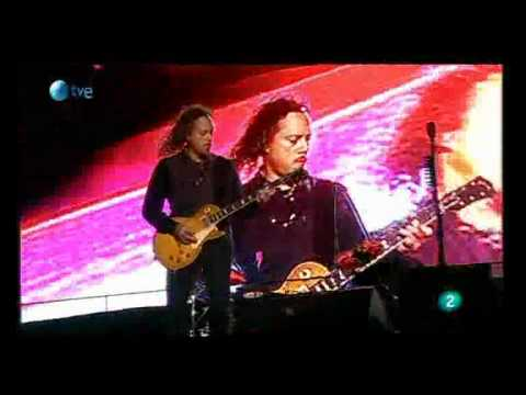 Kirk Hammett clean solo live Rock in Rio Madrid 2010
