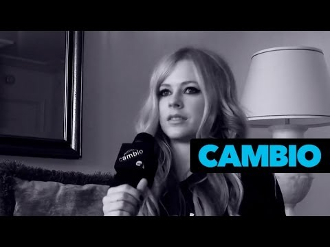 Avril Lavigne Talks Songwriting, Shyness | Cambio Interview