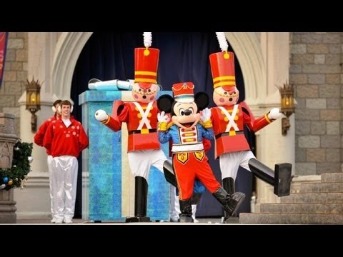 "♥♥ The 2013 Walt Disney World ""Celebrate The Season"" Christmas Show (in HD)"