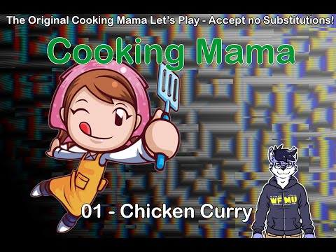 Let's Play The Cooking Mama Series - 01 - Chicken Curry