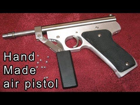 КАК СДЕЛАТЬ ПИСТОЛЕТ (ПНЕВМАТИЧЕСКИЙ)  / HOW TO MAKE A AIR BB GUN