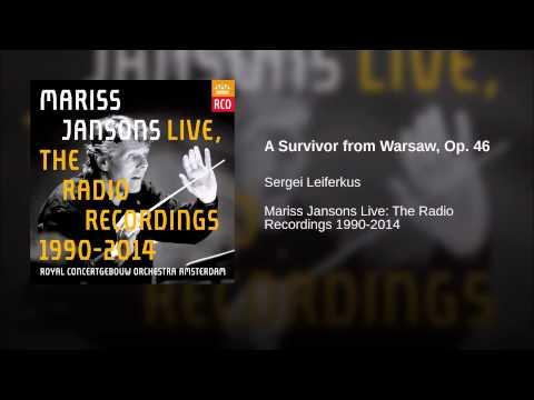 A Survivor from Warsaw, Op. 46