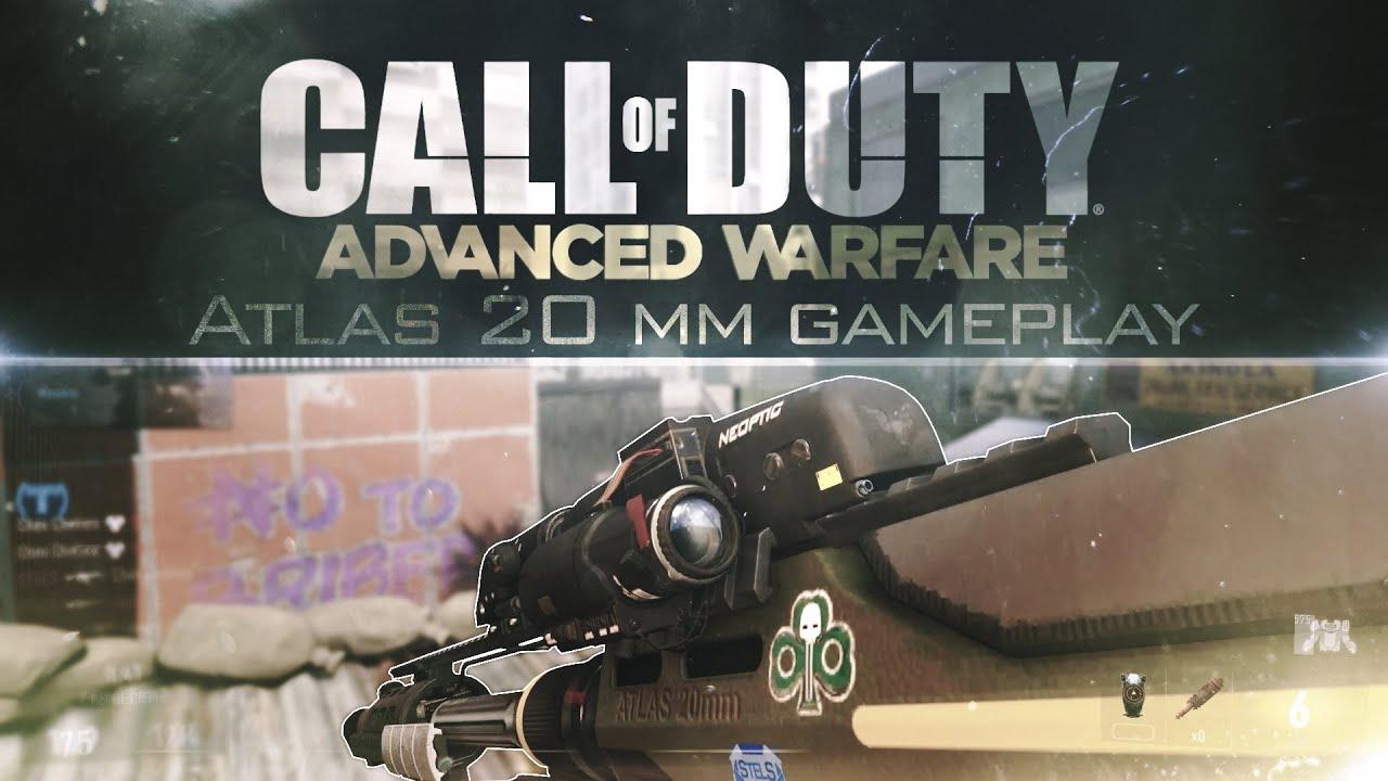Advanced Warfare Atlas Sniper Cod Advanced Warfare Atlas
