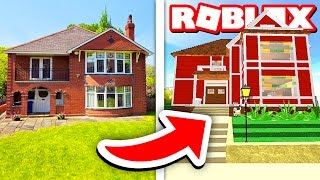 BUILDING MY HOUSE IN ROBLOX