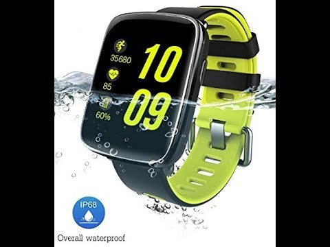 Recensione ITA Smart Watch IP68, YAMAY Blutooth IP68 Fitness Tracker