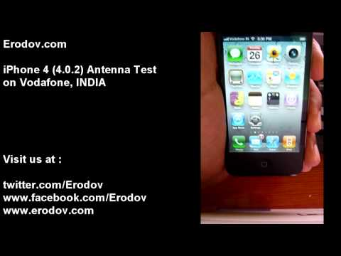 iPhone 4 Antenna Test in India