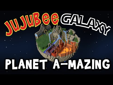 Minecraft ★ JUJUBEE GALAXY: PLANET A-MAZING