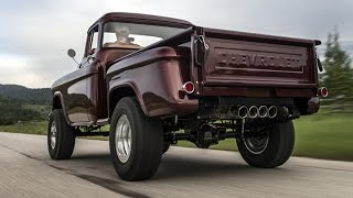 WOW!! Legacy Chevrolet NAPCO 4x4 Conversion