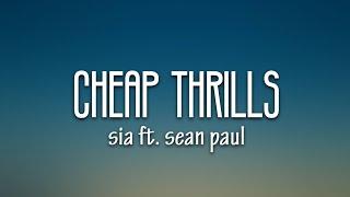 Download lagu Sia - Cheap Thrills (Lyrics) ft. Sean Paul