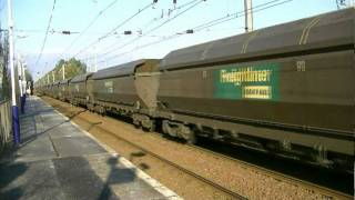 Freightliner 70013 on 6Z81 Hunterston - Killoch 3 Feb 2012.mpeg