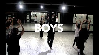 MIND DANCE (마인드댄스) 째즈/다이어트(Jazz/Diet) 8:50 Class |  Britney Spears - Boys | 조윤아 T