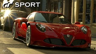 GT SPORT - Alfa Romeo 4C Gr.3 Road Car REVIEW